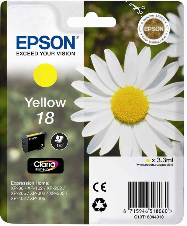 Epson 18 Claria Home Yellow