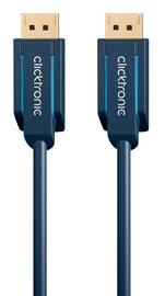 Clicktronic DisplayPort Cable DP To DP 1m