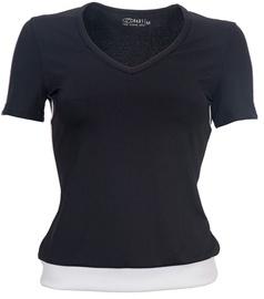 T-krekls Bars Womens T-Shirt Black/White 50 M