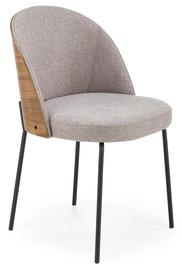 Ēdamistabas krēsls Halmar K451, pelēka/valriekstu