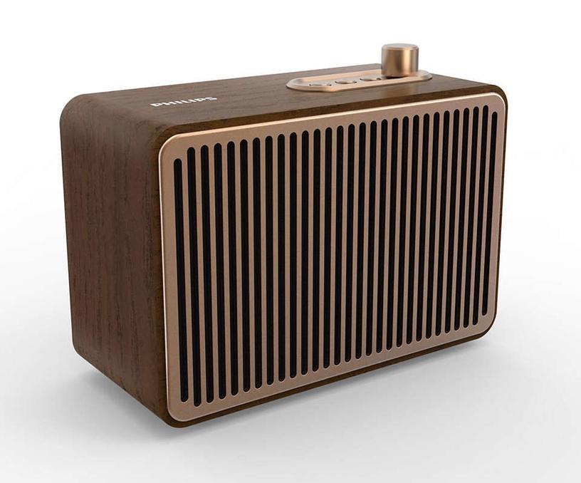 Bezvadu skaļrunis Philips TAVS500, brūna, 10 W