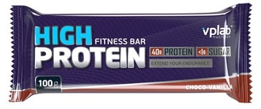 VPLab High Protein Bar Chocolate Vanilla 15x100g