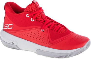 Under Armour SC 3ZER0 IV Basketball Shoes 3023917-600 Red 46