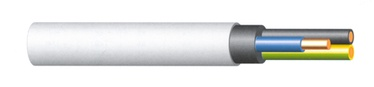 KABELIS 5X4.0 NYM-J (H05VV-U)