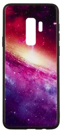 TakeMe Glass Glossy Back Case For Samsung Galaxy J6 Plus J610 Purple Galaxy