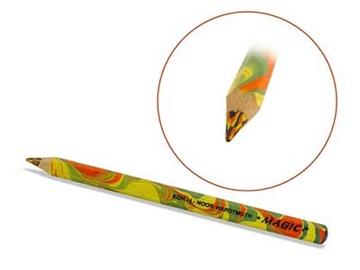 Koh-I-Noor Jumbo Special Coloured Magic Pencil Fire 3405TR