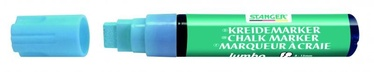 Baltās tāfeles marķieris Stanger Chalk Marker 8-15mm 4pcs Blue 620070