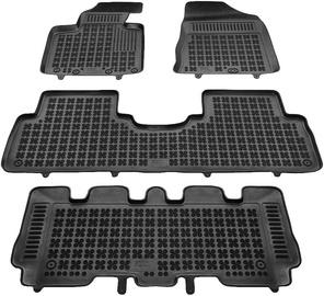 Резиновый автомобильный коврик REZAW-PLAST Kia Sorento III 7 Seats 2015, 4 шт.