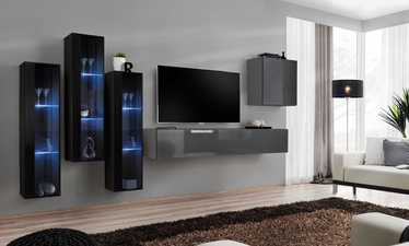 ASM Switch XIII Wall Unit Graphite/Black