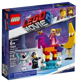 Konstruktors Lego The Movie Introducing Queen Watevra Wa'Nabi 70824