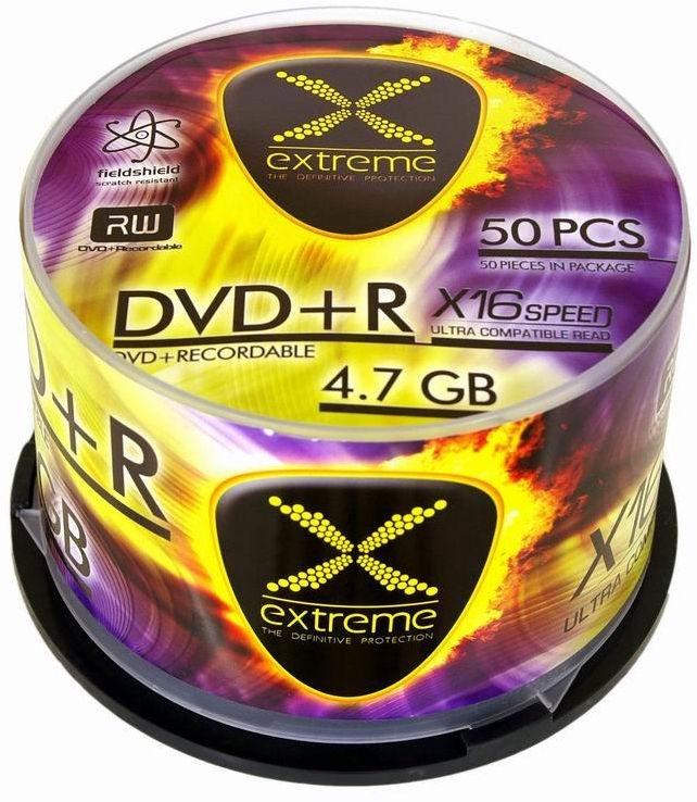 Esperanza 1170 Extreme DVD+R 16x 4.7GB Cake Box 50 DVD's