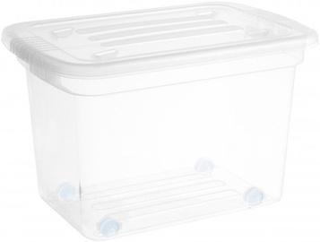 Plast Team Home Box with Wheels 585x390x380mm