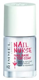 Rimmel London Nail Nurse Nail Base & Top Coat 5in1 12ml