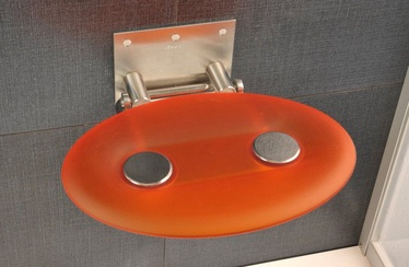 Ravak OVO-P Shower Seat Orange