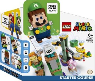 Konstruktors LEGO Super Mario Piedzīvojumi ar Luigi: sākuma maršruts 71387, 280 gab.
