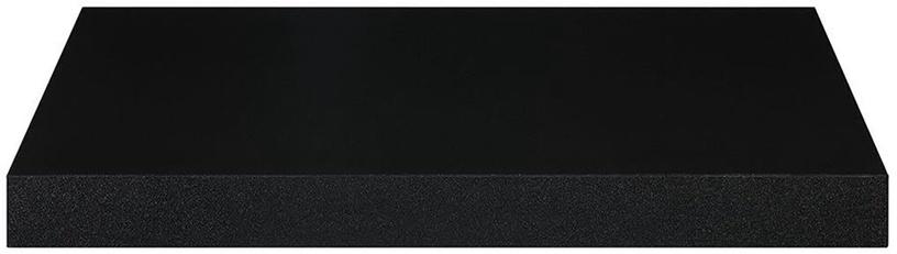 Songmics Wall Shelf Black 40x20cm