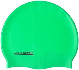Шапочка для плавания Aqua Speed Mega 11 Green Fluorescent