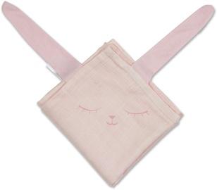 Minene Bamboo Muslin Blanket Pink Bunny