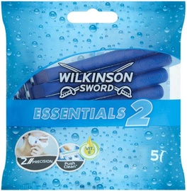 Wilkinson Sword Essentials2 Disposable Razor For Men 5pcs