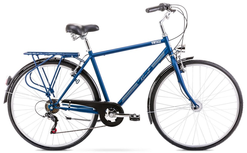 "Velosipēds Romet Vintage M 2128556, zila, 20"", 28"""