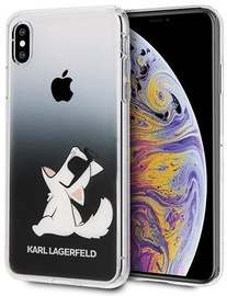 Karl Lagerfeld Choupette Fun For Apple iPhone XS Max Black