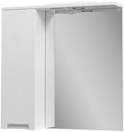 Vento Kvatro 70 White Cabinet With Mirror (поврежденная упаковка)