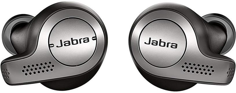 Austiņas Jabra Elite 65t Black, bezvadu