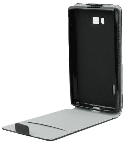 Telone Flexi Slim Flip for Samsung Galaxy Trend S7560 Black