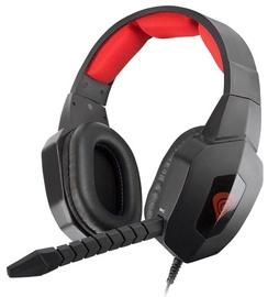 Spēļu austiņas Natec Genesis H59 Black/Red