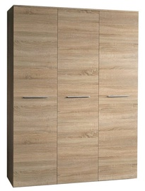 Skapis ASM Big Sonoma Oak, 135x55x190 cm