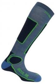 Zeķes Mund Socks Skiing Antibacterias Blue, L, 1 gab.