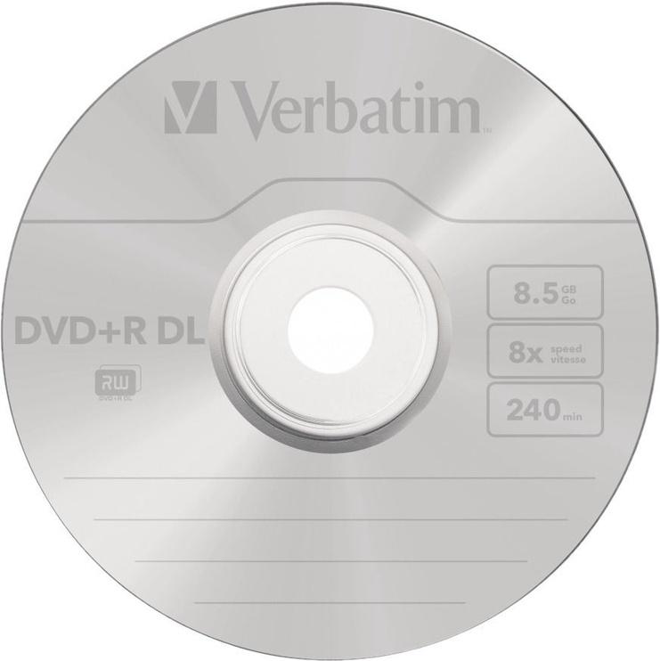 Verbatim DVD+R DL 8.5GB 8x 50pcs 43703