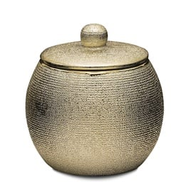 Ridder Lucida Cotton Box 9.5x9.6cm Gold