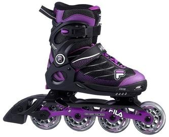 Ролики Fila Wizy Alu Girl Black/Purple, 38-41