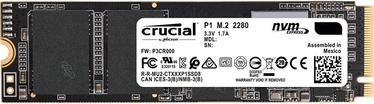 Жесткий диск сервера (HDD) Crucial P1 M.2 SSD 500GB (поврежденная упаковка)