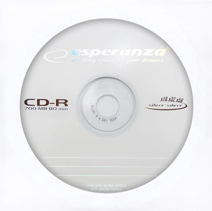 Esperanza 2098 CD-R 56X 700MB 1pcs