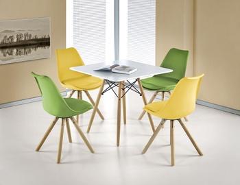 Обеденный стол Halmar Prometheus Square White, 800x800x750 мм