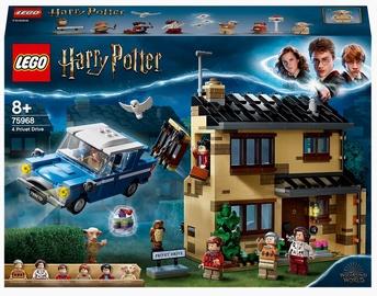 Konstruktors LEGO Harry Potter Dzīvžogu iela 4 75968, 797 gab.