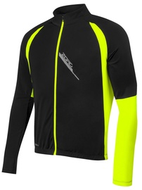Force Zoro Slim Jacket Unisex Black/Yellow XS
