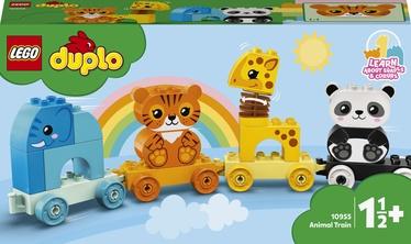 Конструктор LEGO Duplo Мой первый поезд для зверей 10955