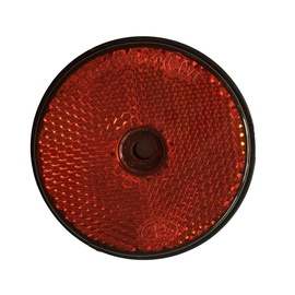 Autoserio Reflector Round Red AFK0180 2pcs