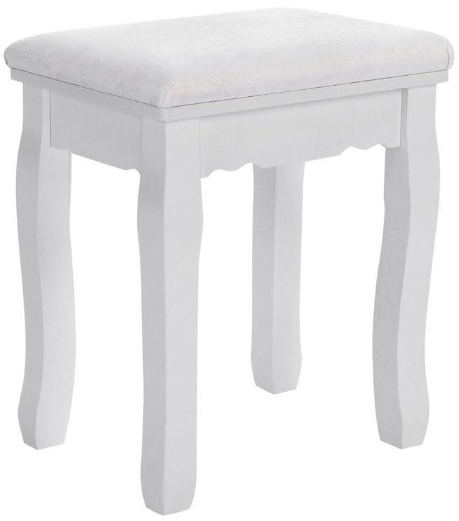 Ēdamistabas krēsls Songmics White 28x37x45cm