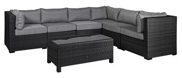 Home4you Sevilla Garden Furniture Set Black