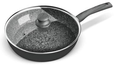 Lamart Flint Non-Stick Frypan With Lid LT1176 28cm