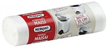 Merkant Garbage Bags 35l 20pcs White