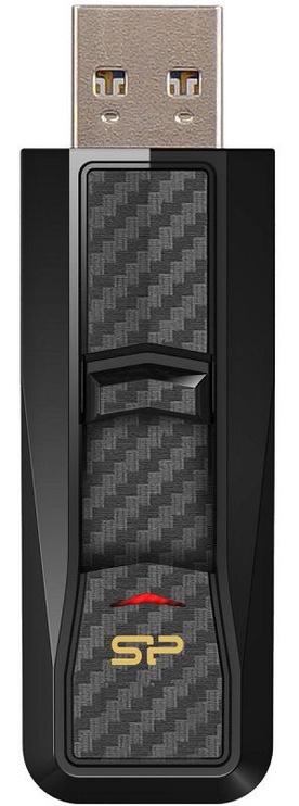 USB atmiņas kartes Silicon Power Blaze B50 Black, USB 3.0, 16 GB
