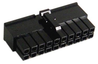 AC Ryan ATX 20Pin Pure Connector Black
