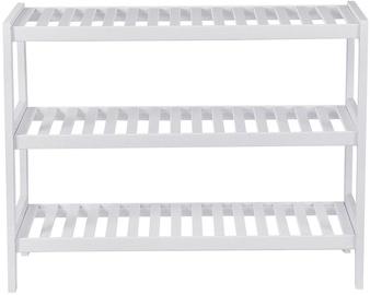 Songmics Shoe Rack White 80x30x50cm