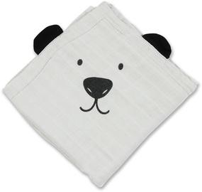 Minene Bamboo Muslin Blanket Grey Bear