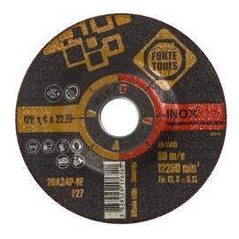 Шлифовальный диск Forte Tools, 125 мм x 22.23 мм